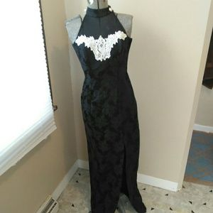 Vintage Black Party Cocktail Dress!